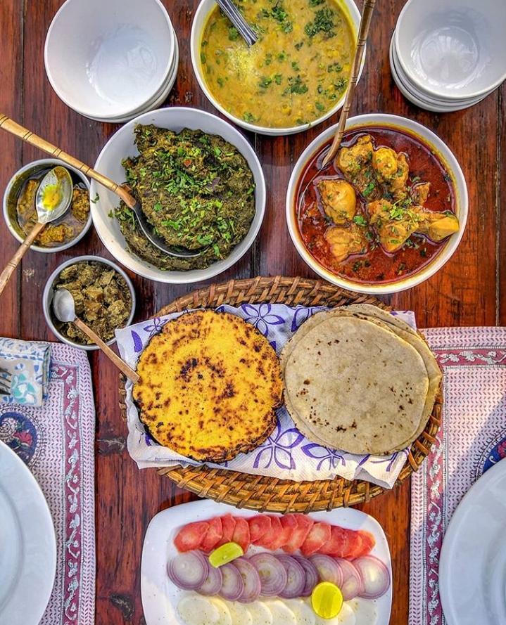 Punjabi cuisine on a Platter in Punjabiyat!